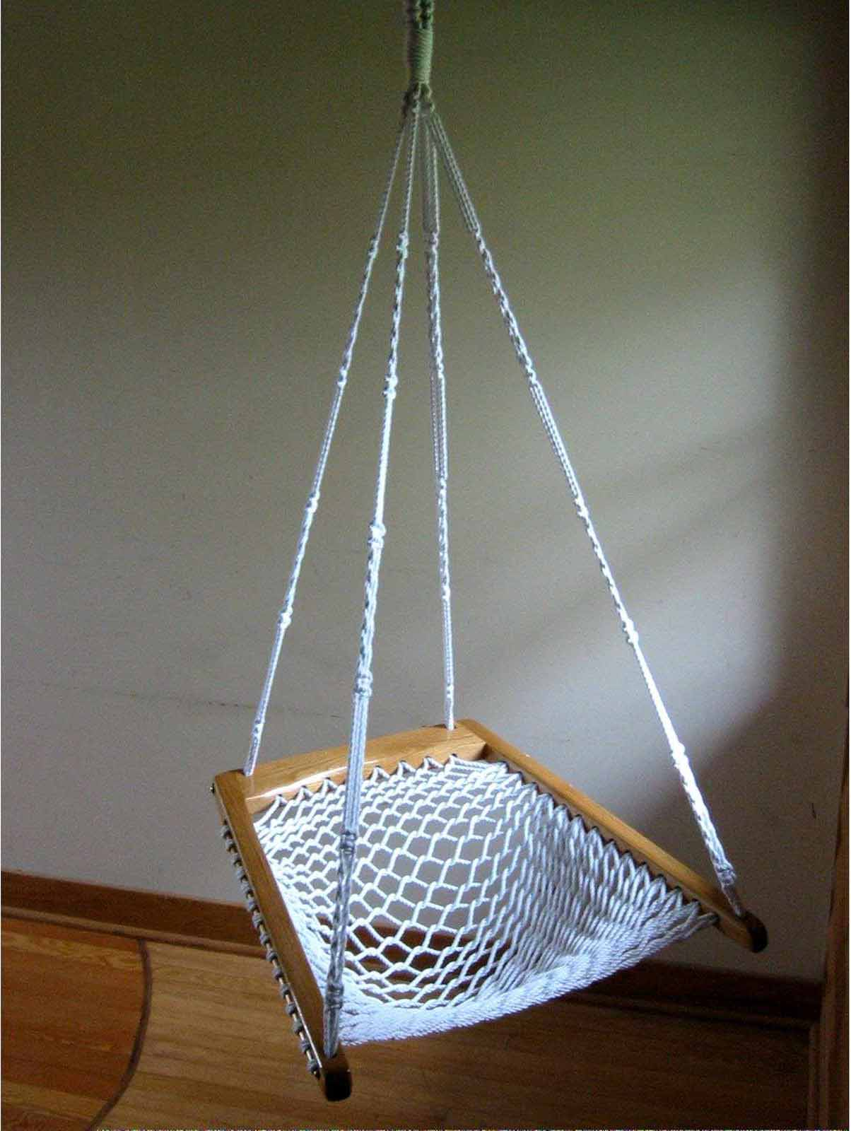 hanging chair for baby 8 table set hammock jute