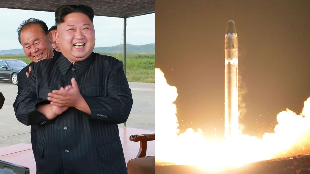 NORTH KOREA Pyongyang has 15 to 60 nuclear warheads and 650 ballistic missiles