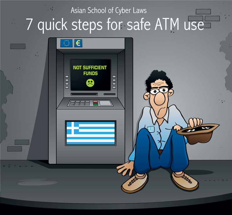 7 quick steps to safe ATM use