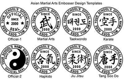 Custom Foil Seal Embosser