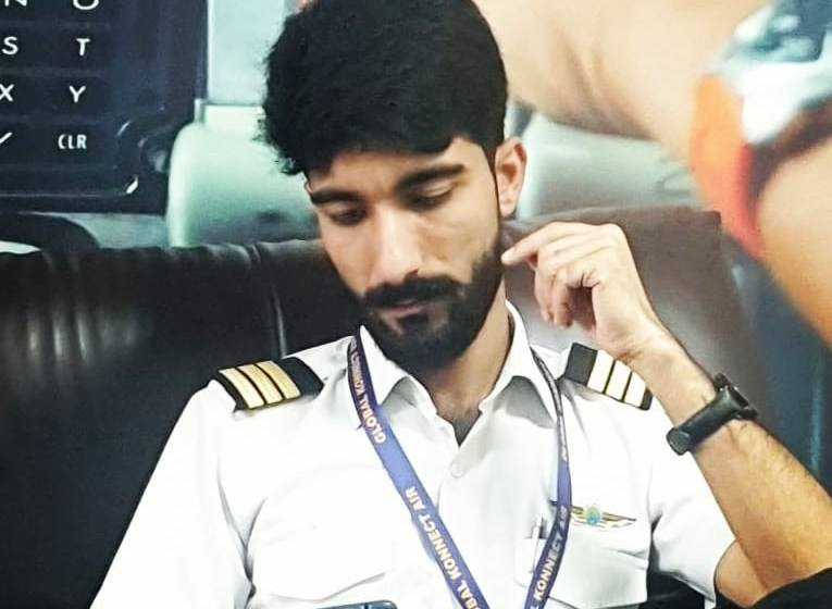 At 20, Farhan Majeed is Kashmir's youngest qualified pilot