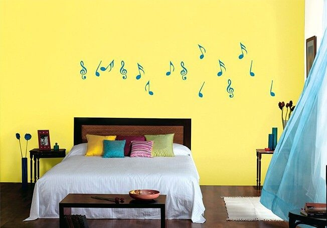 5 Wall Colour Combinations For A Teenager S Bedroom Blogs Asian Paints