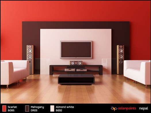 asian paints interior wall colours images | home painting