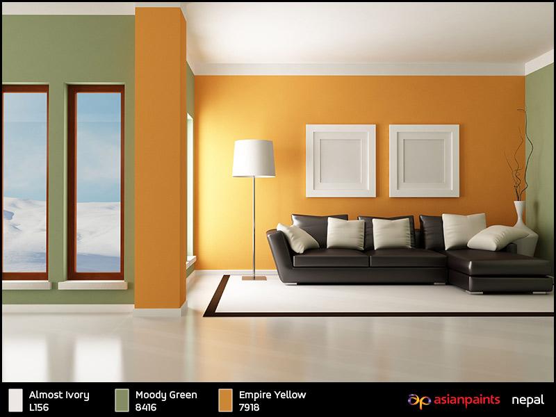 Asian paints interior colour combinations guide for Interior asian paints designs