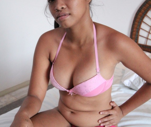Young Busty Filipina Teen Strips Her Dress And Shows Her Tits Naughtily