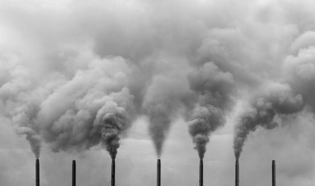 air pollution declines with