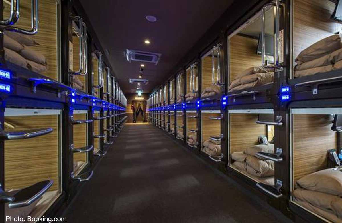 10 most unique capsule hotels in Japan. Asia News - AsiaOne