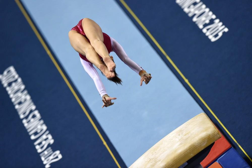 vaulting gymnastics games the