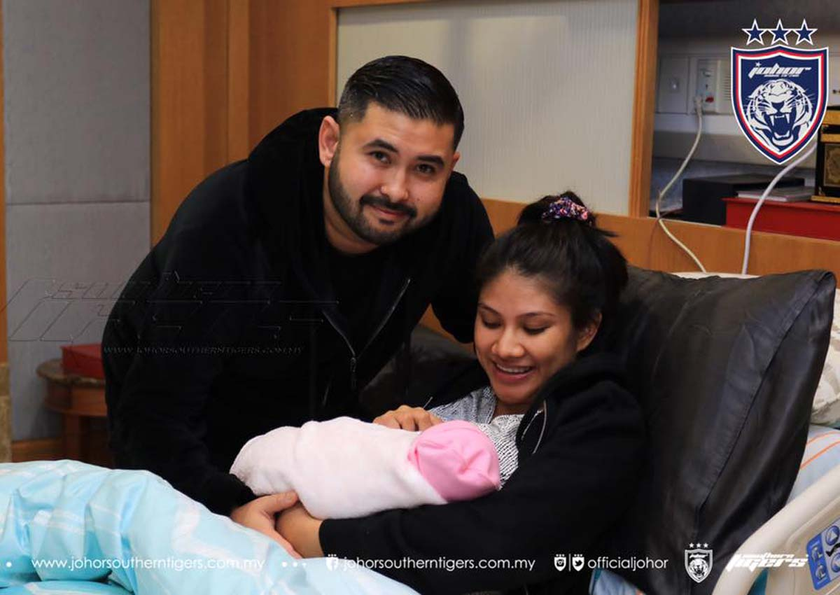 Johor Crown Prince and wife welcome baby daughter