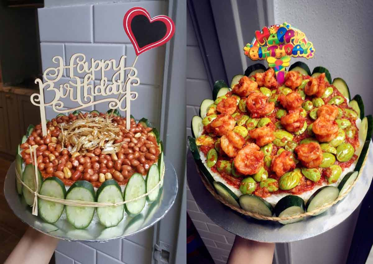 Someone created Nasi Lemak cakes and Malaysians are loving