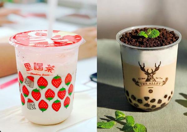 bubble tea in singapore