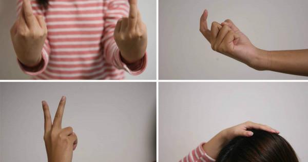 10 innocent hand gestures