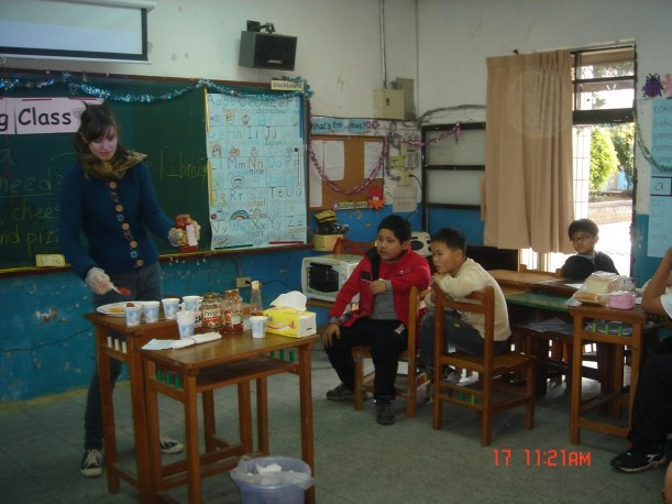 internship in Taiwan teaching children