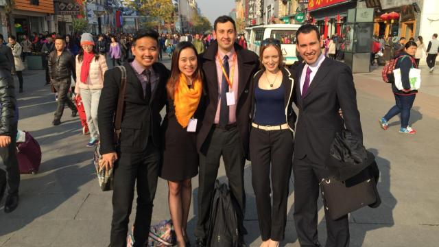 APEC Youth Summit delegates sightseeing in Beijing