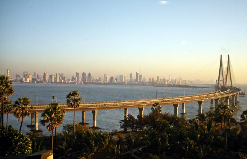 Mumbai (Bandra Worli Sea Link) - the business capital of India. Credit: Woodysworldtv - http://www.flickr.com/photos/woodysworldtv/5530750545/sizes/o/