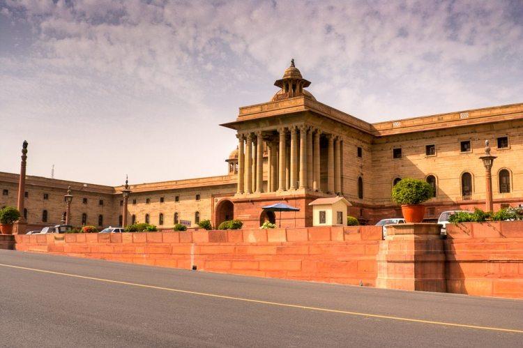 Delhi (Central Secretariat), the political heart of India. Credit Saad Akhtar