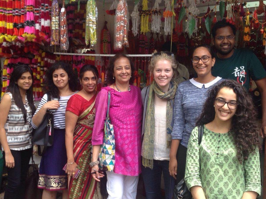 My team during my Asia Society internship in Mumbai. Image: Brigid Connel