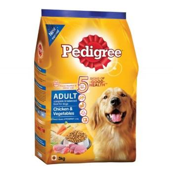 Pedigree Chicken And Vegetable Adult Dog Food 1.2KG