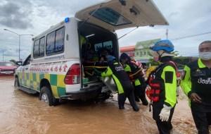 ทีมบรรเทาสาธารณภัย มูลนิธิป่อเต็กตึ๊ง รุดลงพื้นที่จังหวัดลพบุรี! เร่งอพยพผู้ประสบภัยน้ำท่วมในพื้นที่อำเภอลำสนธิ จังหวัดลพบุรี