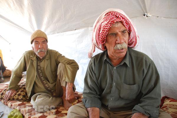 <イラク写真報告>ヤズディ教徒襲撃から2年(2)ISの殺戮から逃れ、山で命絶えた住民も(写真8枚)