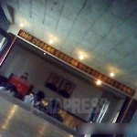 주민을 대상으로 한 정치학습의 현장을 포착한 사진. 2013년 8월 양강도에서 촬영 (아시아프레스)