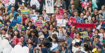 Peace Protest in Tokyo photo Akinori 3
