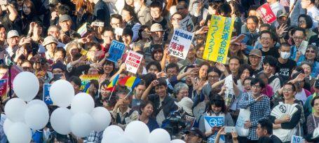 Peace Protest in Tokyo photo Akinori 6