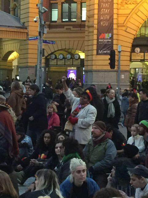 Melbourne protest 1