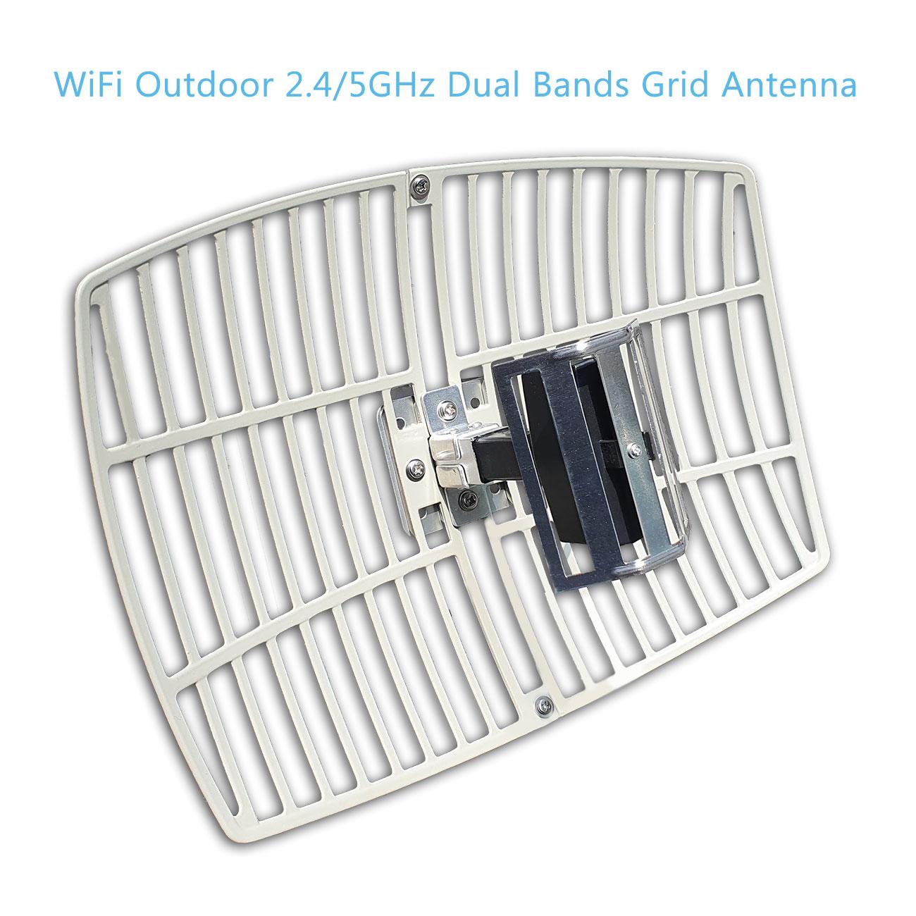 Wifi Dual Bands Parabolic Grid Antennas 2 4ghz 5ghz Ag