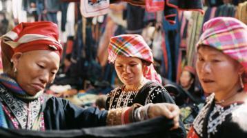 The Love Market in Sapa