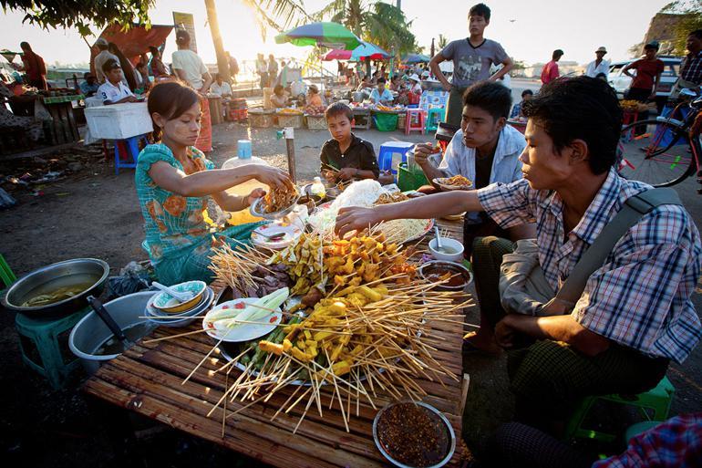 Myanmar streetfood