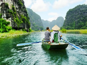 A memorable stop by the mysterious Tam Coc