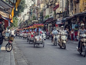 Fantastic journey around Hanoi by cyclo