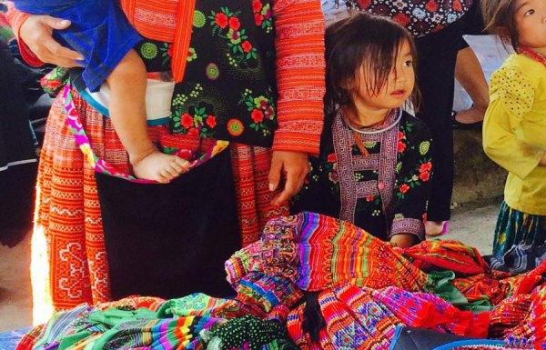 Muong and Pa Co Markets - Mai Chau - Hoa Binh - Vietnam