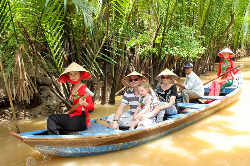 How to make a Mekong Delta tour 2 days 1 night 4