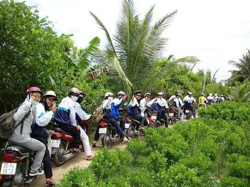 Visit Mekong Delta tour by motorbike