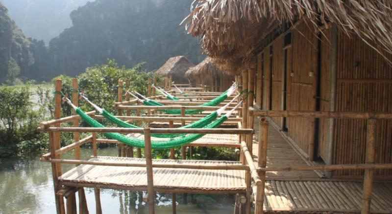 The rustic homestays in Mekong Delta