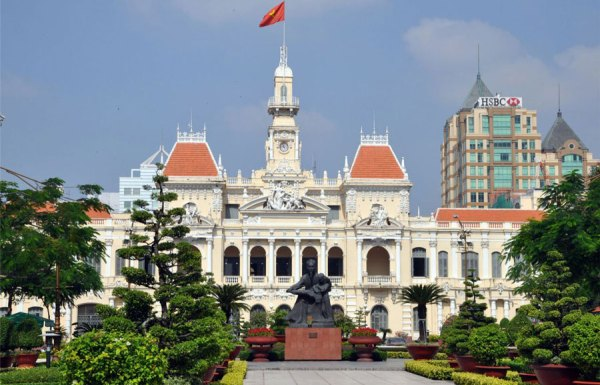 Places to visit in Nguyen Hue Street, best time to visit Nguyen Hue Street