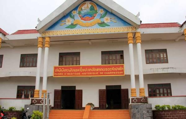 Wat Luang,Wat Luang in Pakse , Tours in Laos, Travel to Laos