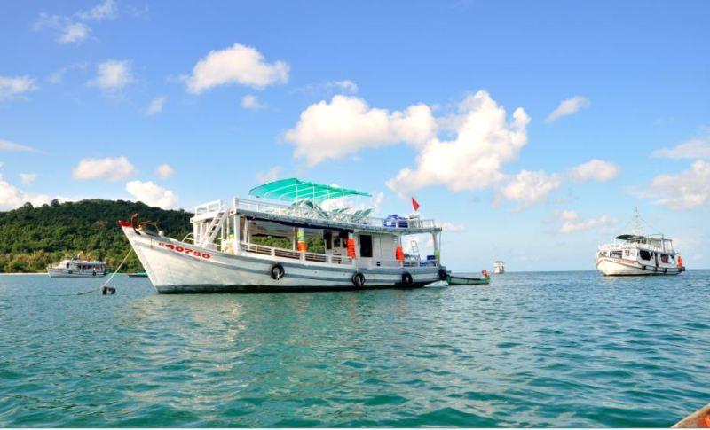 To reach Nam Du Islands, visitors should take a ship