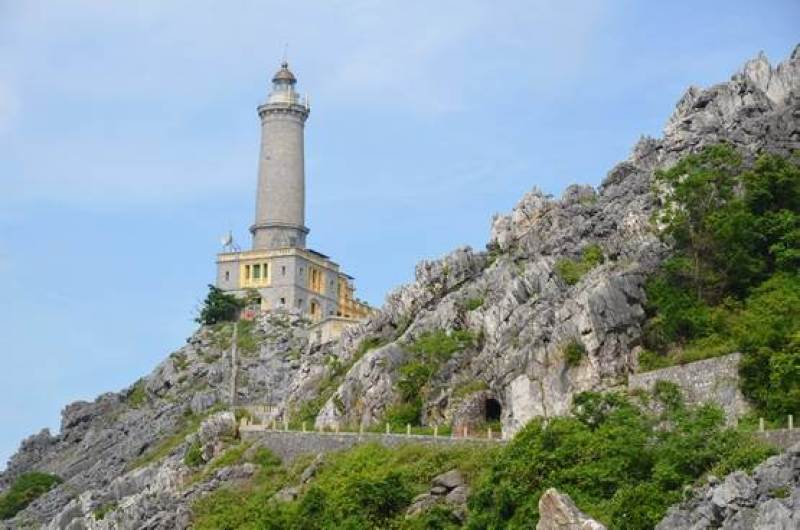 Lighthouse - Tourist attractions in Nam Du island