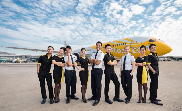 Scoot's new uniforms and livery
