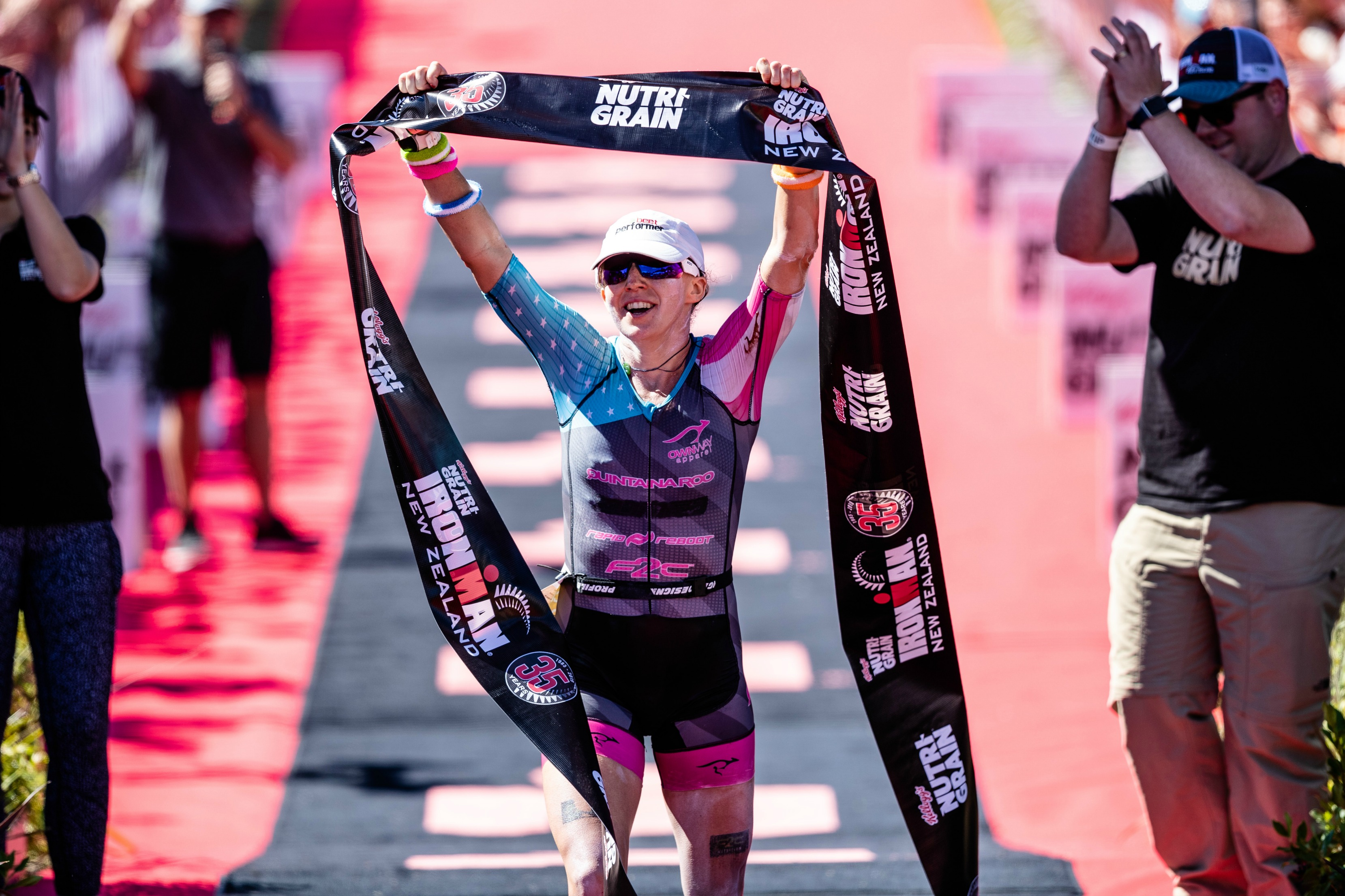 Mccauley Smashes Race Record In Emotional Ironman Nz Victory