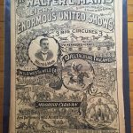 Walter L. Main Circus promotional poster