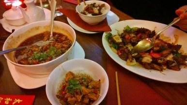 Essen in der Peking Ente