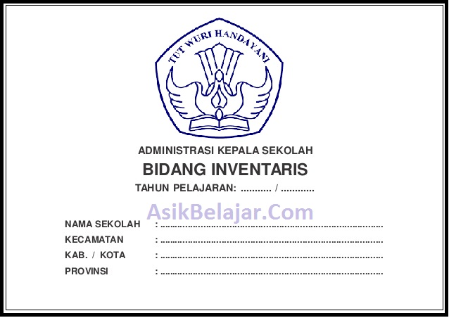 Pengadministrasian kode barang inventaris