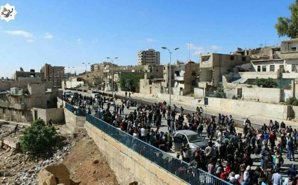 الدفعة الثالثة من مهجري برزة تتوجه إلى الشمال السوري