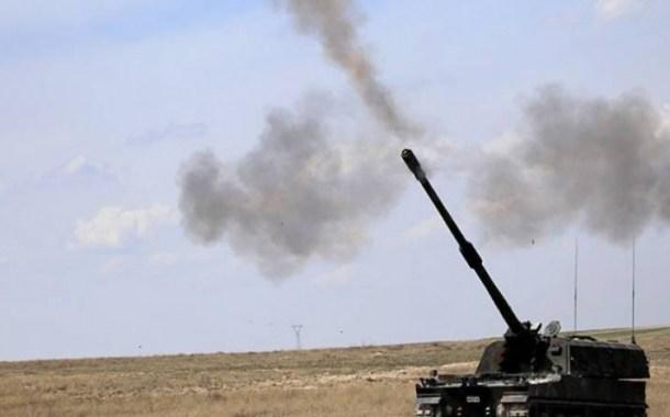 قصف مدفعي تركي على مواقع المليشيات الكردية شمال سورية