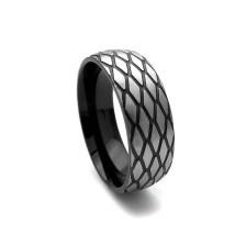 Ανδρικό Δαχτυλίδι με μοντέρνα διχρωμία