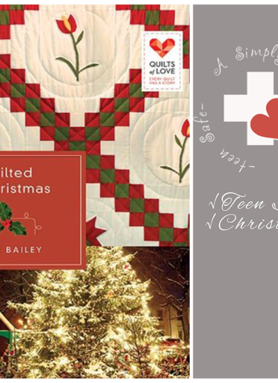 A warm Christmas tale of God's steadfast love:Review of Quilted by Christmas by JODIE BAILEY